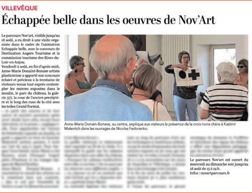 Courrier de l'Ouest – Nov'Art
